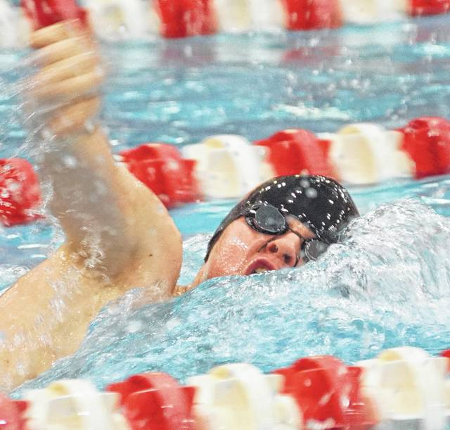 For the second year in a row, Ricky Dungan has qualified for the state swim meet in the 200- and 500-yard freestyle.