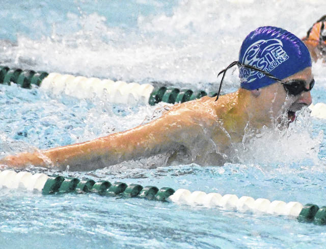 Clinton-Massie's Wesley Vert is an alternate for the 500 freestyle in the upcoming district swim meet.
