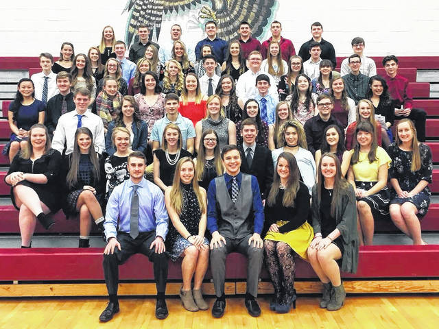 The Clinton-Massie High School National Honor Society inducted 36 new members this year.