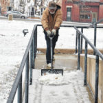 Scraping, chipping, shoveling: Clinton Countians dig out