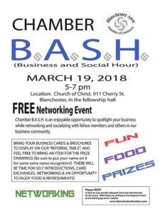 Free networking BASH in Blanchester