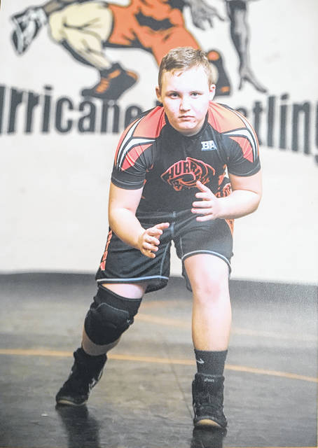 Brayden Smith has had a successful March on the wrestling mat. The Rodger O. Borror Middle School student was fourth in the OH-WAY state tournament this past weekend and first in the OAC state tournament on March 4.