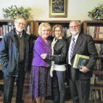 New Vienna church dedicates Fisher Library