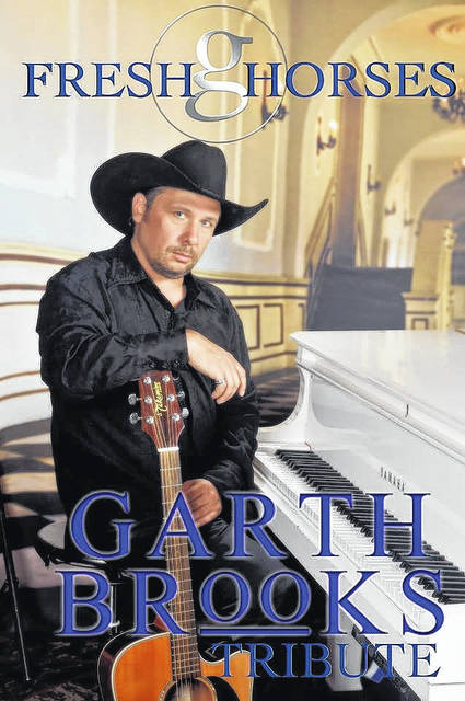 Les Smith and Fresh Horses: A Tribute to Garth Brooks will be on the Murphy Theatre stage Saturday, April 7.