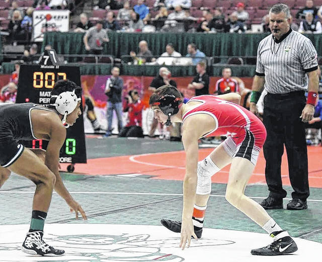 The Astros' first state qualifier, Wyatt Riddle garnered a fourth-place finish in the state in Division III wrestling.