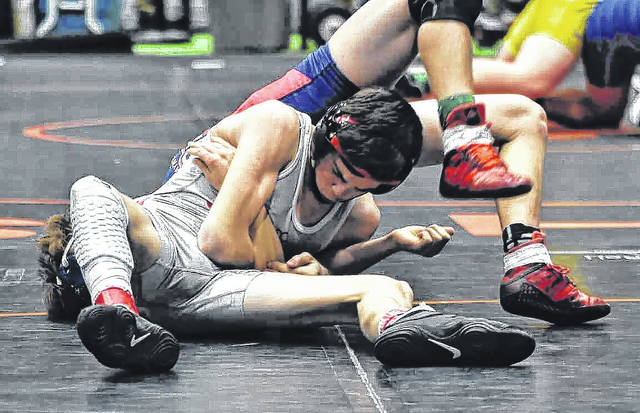 Wyatt Riddle became the first East Clinton wrestler to qualify for the state.
