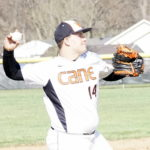 Tackett delivers big hit in 8-5 win for Hurricane