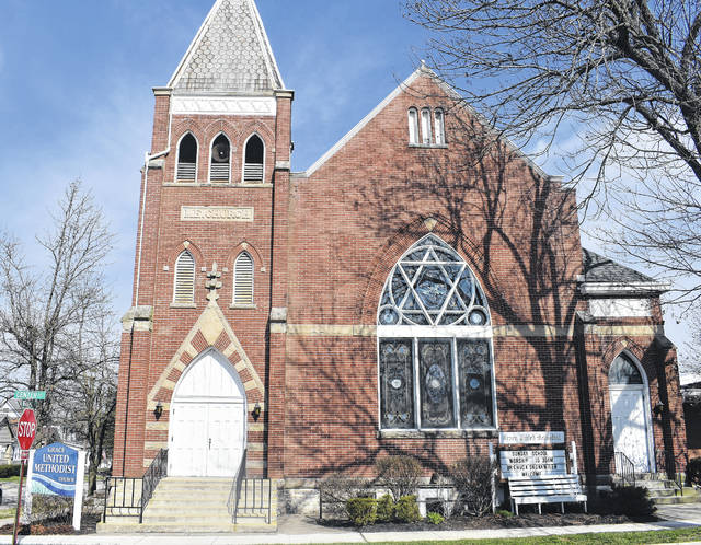 """Today the News Journal begins highlighting places of worship around Clinton County on our Religion Page which appears each Friday. Shown here is the Grace United Methodist Church at 201 E. Center St. in Blanchester. The church's mission is """"To share the Graceful Love of Jesus with our community and our World."""" They are also known for hosting a periodic free community dinner for all who wish to attend. To learn more visit """"Blanchester Grace"""" on Facebook or call 937-783-3655.."""