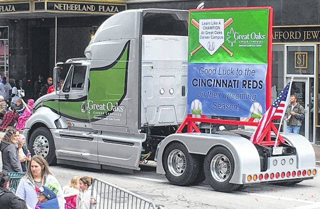 Laurel Oaks students got to show off their custom truck during the annual Findlay Market Parade in Cincinnati.