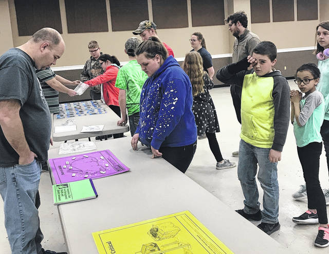 The Clinton County Fur and Feather 4-H Club met Wednesday night at the Expo Center for their fifth meeting of the year. Asher Hall led the club in the Pledge of Allegiance and Daniel Hinkle led the 4-H pledge. Advisor Mike Cook gave 4-H committee updates and explained the project inserts. Kevin Bogan gave senior fair board updates – the rabbit barn will be getting a new roof. The club members practiced Skillathon where they were tested on the parts of the rabbit, sanitation, breeds, and more. The next meeting will be April 25 in the Expo Center where the club will practice handling their rabbits. — Connor Cook, 4-H club reporter