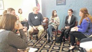WC students learn to lobby in D.C.