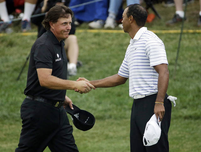 Column: Tiger and Phil improve relationship with age
