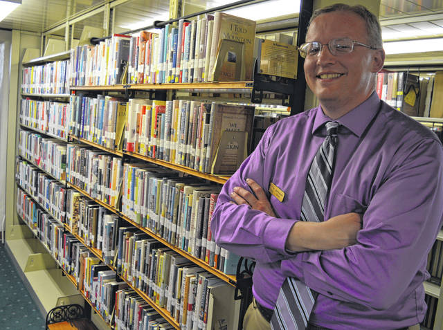 Wilmington Public Library's new Director Joe Knueven is open to suggestions.