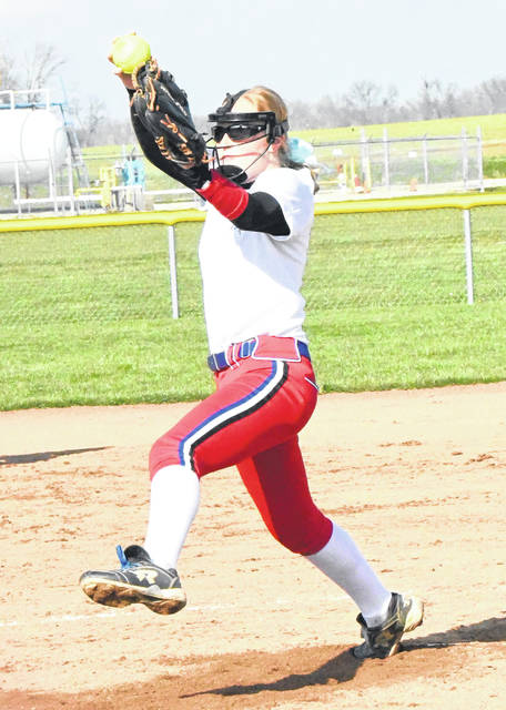Claire Carruthers, who was the pitcher for Massie as a freshman, is now a senior and rarely pitches. She was moved to first base her sophomore year and the team has reached two straight regional tournaments te past two years.