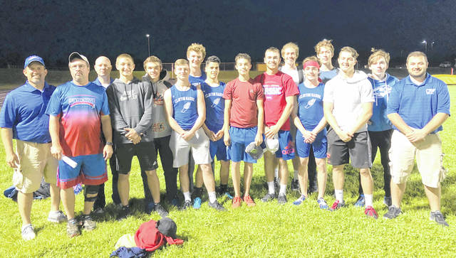 The Clinton-Massie boys track and field team.