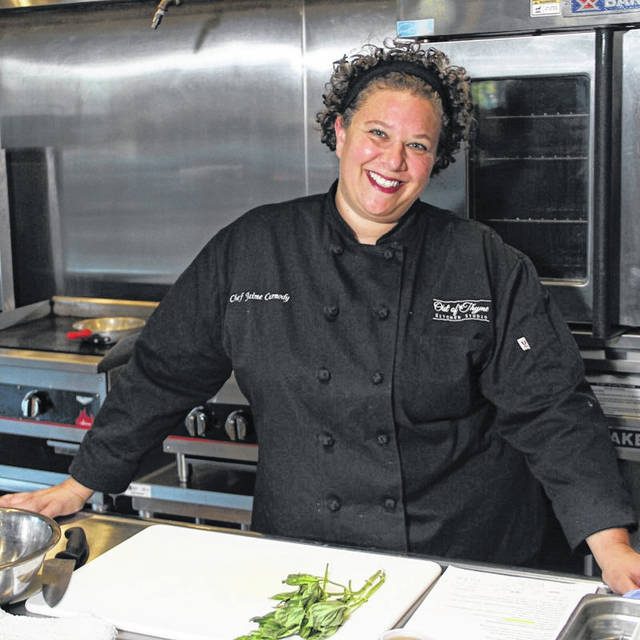 Chef Jaime Carmody of Out of Thyme Personal Chef Service will be at the market sharing recipes and samples.