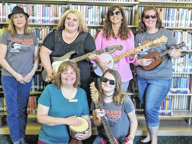 Staff is ready to rock and read this summer at the Wilmington Public Library and the Clinton-Massie Branch.