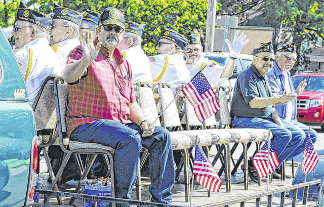 U.S. military veterans rode several units in the 2017 Memorial Day Parade in Wilmington.