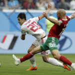 'Iranian Messi' feels at home at World Cup before Spain game