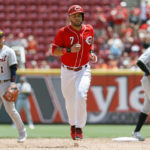 Gennett, Suarez HRs rally Reds over Tigers 5-3