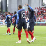 Mbappe sends France into 2nd round with 1-0 win over Peru