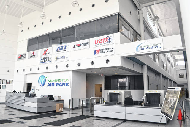 """The air park features """"strong working relationships with tenants and service providers, improvements to infrastructure, and a broader vision of how the Wilmington Air Park can serve our community."""""""