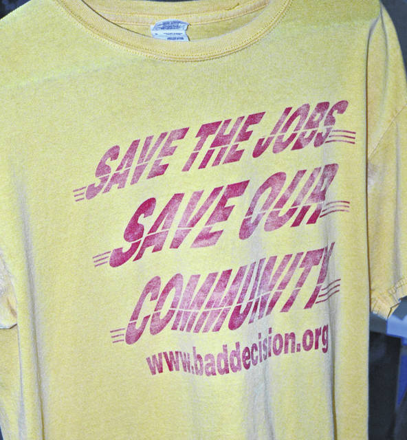These T-shirts seen around Wilmington reflected the fight-back attitude of Clinton Countians and of DHL employees.