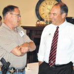 Township officials gather for event