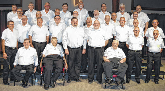 The Unified Christian Men's Chorus consists of 35 men from Fayette, Clinton and Highland counties.