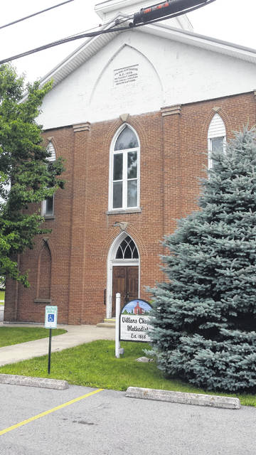 """Villars Chapel is """"A United Methodist Church seeking to love others, serve our community, give generously, and share our story."""" Located at 3852 W. Ohio 350, the church was founded in 1868. For more information call 937-728-1810 or visit their Facebook page."""