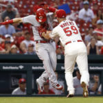 Peraza's 5 hits lead Reds past Cardinals