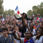 World Cup afterglow lifts up conflicted France