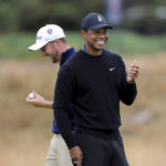The Latest: British Open at Carnoustie