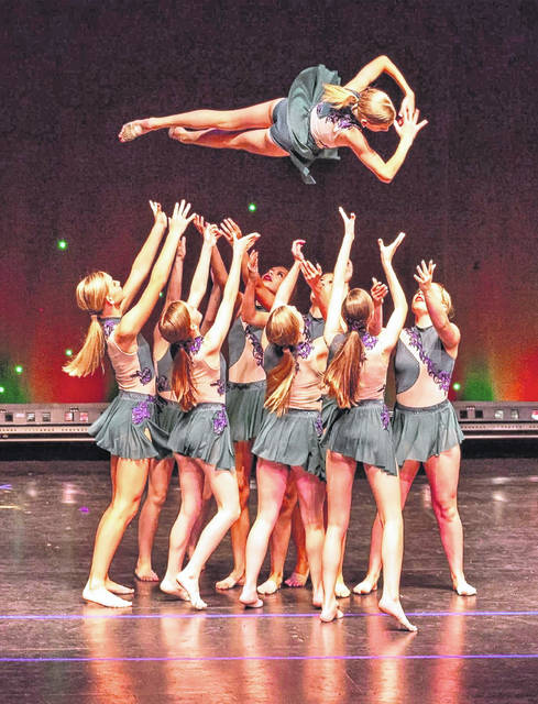 """Wilmington College senior Carley Wilson choreographs for the Springboro-based dance studio, """"All That Dance."""" Troupe members will be performing the piece, """"What the World Needs Now,"""" at an Aug. 6 Hiroshima/Nagasaki program."""
