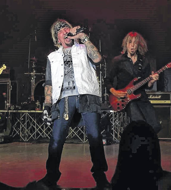 Jack Russell's Great White on the Murphy stage Saturday night.