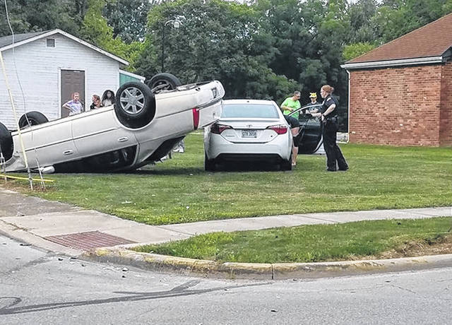This crash was at West Main at Hale Street in Wilmington Sunday.