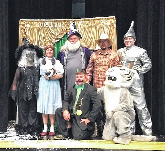 Blanchester Local Schools staff channeled the Wizard of Oz in their skits during the 2018 convocation.