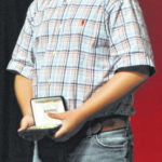 Belt buckles earned at state fair