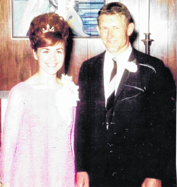 Bess and Max Hewitt, newly married