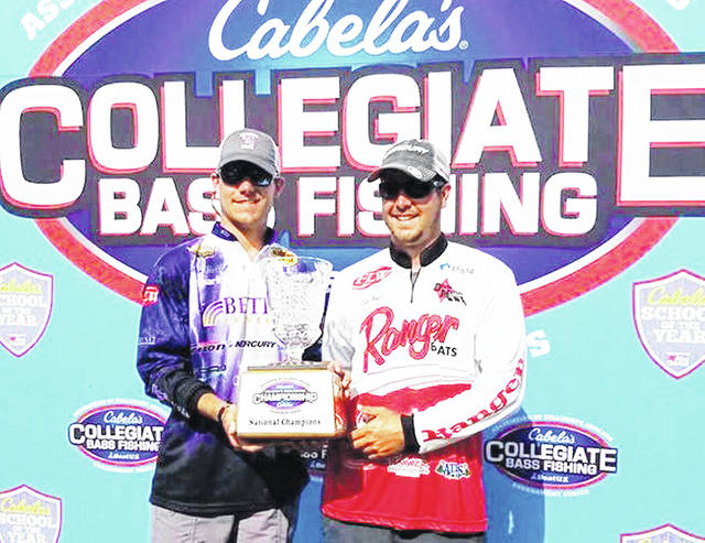 Carter McNeil and Cole Floyd led Bethel University to the national championship in May.