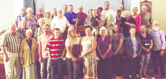 Chester Friends worked to raise funds as an intergenerational activity.