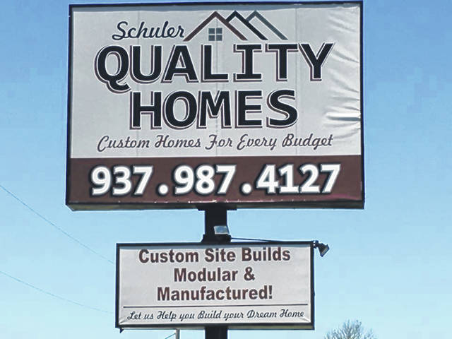 Schuler Quality Homes is at 10920 State Route 73, New Vienna.