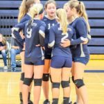 Blan JV volleyball ends 5-match week with win
