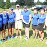 Woods sets another mark, CM girls golfers in control