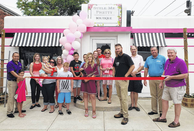 """The News Journal Advertising staff congratulates Style Me Pretty Boutique, which celebrated their grand opening on Saturday, Aug. 25, with an open house and ribbon-cutting. Style Me Pretty has re-purposed the old """"Little Giant Diner"""" at 123 N. South St. in Wilmington into a small clothing and home goods boutique. They also host parties on their patio in the evenings or weekends for small groups. They feature clothing, gifts, small home goods, and furniture pieces. Style Me Pretty is open on Tuesday-Friday from 10:30 a.m.-6 p.m. and Saturday from 10:30 a.m.-3 p.m. Follow them on Facebook to keep up-to-date with new inventory at facebook@stylemeprettyfashion."""